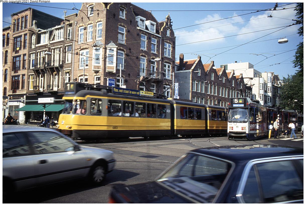 (562k, 1220x820)<br><b>Country:</b> The Netherlands<br><b>City:</b> Amsterdam<br><b>System:</b> GVB (Gemeente Vervoerbedrijf)<br><b>Location:</b> C. Huygensstraat & Overtoom<br><b>Route:</b> 1<br><b>Car:</b> Type 6G 683 <br><b>Photo by:</b> David Pirmann<br><b>Date:</b> 8/28/1999<br><b>Viewed (this week/total):</b> 1 / 9