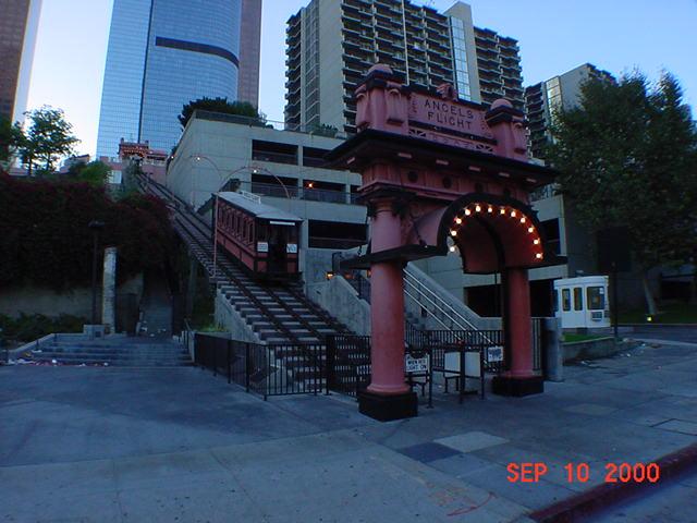 (60k, 640x480)<br><b>Country:</b> United States<br><b>City:</b> Los Angeles, CA<br><b>System:</b> Angel's Flight<br><b>Location:</b> Lower station<br><b>Photo by:</b> Salaam Allah<br><b>Date:</b> 9/10/2000<br><b>Viewed (this week/total):</b> 0 / 4083