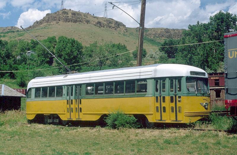 (99k, 800x524)<br><b>Country:</b> United States<br><b>City:</b> Los Angeles, CA<br><b>System:</b> LARY/LATL/PE/LAMTA <br><b>Car:</b> PCC  3103 <br><b>Photo by:</b> <a href=http://www.tramway.com/>www.tramway.com</a><br><b>Collection of:</b> Joe Testagrose<br><b>Date:</b> 9/30/1997<br><b>Notes:</b> Colorado Ry Museum<br><b>Viewed (this week/total):</b> 1 / 1775
