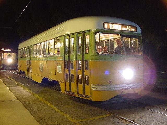 (61k, 640x480)<br><b>Country:</b> United States<br><b>City:</b> Perris, CA<br><b>System:</b> Orange Empire Railway Museum <br><b>Car:</b> PCC  3100 <br><b>Photo by:</b> Salaam Allah<br><b>Date:</b> 10/1/2000<br><b>Viewed (this week/total):</b> 0 / 2607
