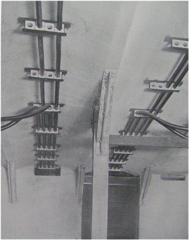 (30k, 377x479)<br><b>Country:</b> United States<br><b>City:</b> New York<br><b>System:</b> New York City Transit<br><b>Location:</b> Interborough Subway<br><b>Photo by:</b> IRT Company<br><b>Date:</b> 1904<br><b>Notes:</b> Direct Current Feeders from Manhole to Contact Rail<br><b>Viewed (this week/total):</b> 0 / 5059