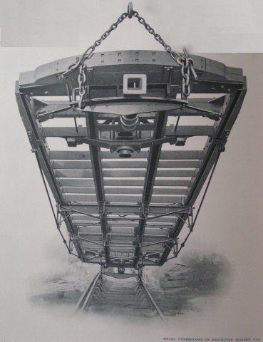 (30k, 369x480)<br><b>Country:</b> United States<br><b>City:</b> New York<br><b>System:</b> New York City Transit<br><b>Location:</b> Interborough Subway<br><b>Photo by:</b> IRT Company<br><b>Notes:</b> Metal Underframe of Protected Wooden Car<br><b>Viewed (this week/total):</b> 0 / 4853