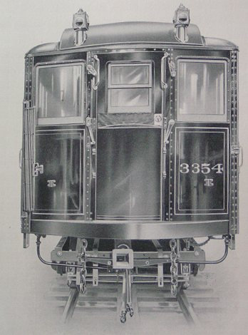 (35k, 348x470)<br><b>Country:</b> United States<br><b>City:</b> New York<br><b>System:</b> New York City Transit<br><b>Location:</b> Interborough Subway<br><b>Photo by:</b> IRT Company<br><b>Notes:</b> End View of Steel Passenger Car<br><b>Viewed (this week/total):</b> 0 / 1330