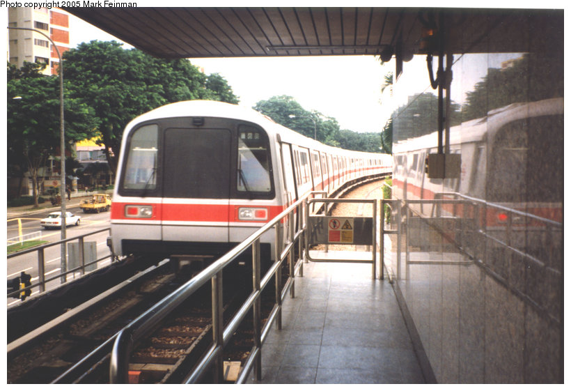 (122k, 820x561)<br><b>Country:</b> Singapore<br><b>City:</b> Singapore<br><b>System:</b> Singapore MRT<br><b>Photo by:</b> Mark S. Feinman<br><b>Date:</b> 9/2/1995<br><b>Viewed (this week/total):</b> 2 / 2807