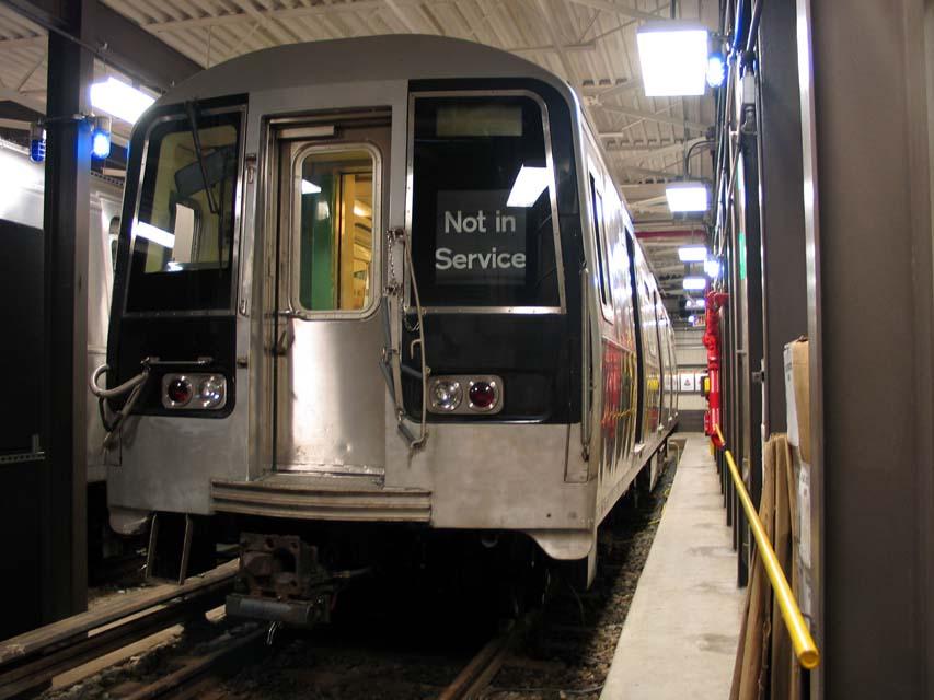 (85k, 853x640)<br><b>Country:</b> United States<br><b>City:</b> New York<br><b>System:</b> New York City Transit<br><b>Location:</b> Coney Island Yard-Training Facilities<br><b>Car:</b> R-110B (Bombardier, 1992) 3004 <br><b>Photo by:</b> Michael Pompili<br><b>Date:</b> 8/3/2004<br><b>Notes:</b> At Coney Island firefighter training school.<br><b>Viewed (this week/total):</b> 3 / 11082