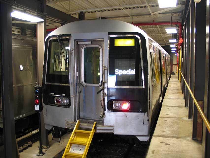 (83k, 853x640)<br><b>Country:</b> United States<br><b>City:</b> New York<br><b>System:</b> New York City Transit<br><b>Location:</b> Coney Island Yard-Training Facilities<br><b>Car:</b> R-110B (Bombardier, 1992) 3006 <br><b>Photo by:</b> Michael Pompili<br><b>Date:</b> 8/3/2004<br><b>Notes:</b> At Coney Island firefighter training school.<br><b>Viewed (this week/total):</b> 7 / 13889