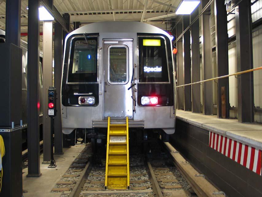 (96k, 853x640)<br><b>Country:</b> United States<br><b>City:</b> New York<br><b>System:</b> New York City Transit<br><b>Location:</b> Coney Island Yard-Training Facilities<br><b>Car:</b> R-110B (Bombardier, 1992) 3006 <br><b>Photo by:</b> Michael Pompili<br><b>Date:</b> 8/3/2004<br><b>Notes:</b> At Coney Island firefighter training school.<br><b>Viewed (this week/total):</b> 8 / 6311