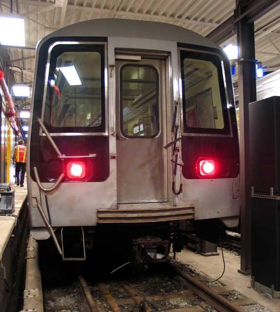 (64k, 574x640)<br><b>Country:</b> United States<br><b>City:</b> New York<br><b>System:</b> New York City Transit<br><b>Location:</b> Coney Island Yard-Training Facilities<br><b>Car:</b> R-110B (Bombardier, 1992) 3006 <br><b>Photo by:</b> Michael Pompili<br><b>Date:</b> 8/3/2004<br><b>Notes:</b> At Coney Island firefighter training school.<br><b>Viewed (this week/total):</b> 0 / 5690