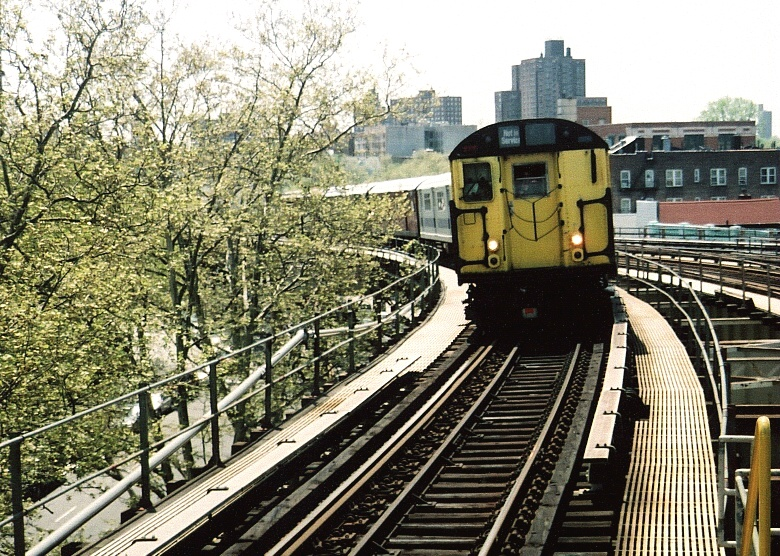 (295k, 780x556)<br><b>Country:</b> United States<br><b>City:</b> New York<br><b>System:</b> New York City Transit<br><b>Line:</b> IRT White Plains Road Line<br><b>Location:</b> Gun Hill Road <br><b>Route:</b> Fan Trip<br><b>Car:</b> R-22 (St. Louis, 1957-58) 37371 <br><b>Photo by:</b> Gary Chatterton<br><b>Date:</b> 5/1/2005<br><b>Notes:</b> Work Motor 37371 on fantrip.<br><b>Viewed (this week/total):</b> 0 / 3461
