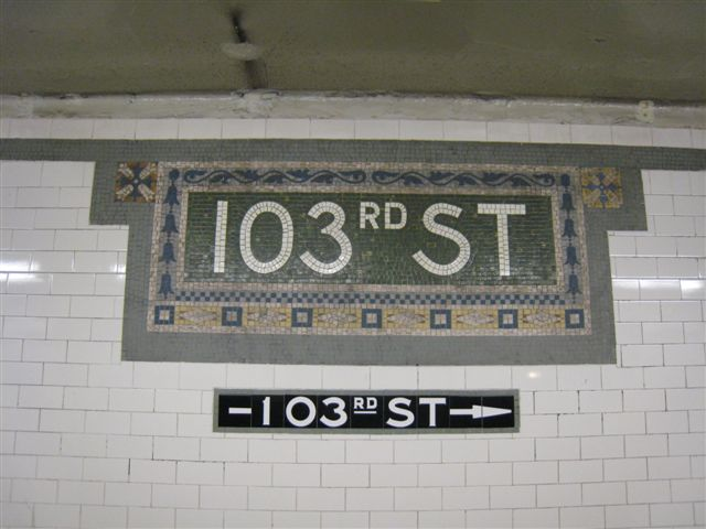 (48k, 640x480)<br><b>Country:</b> United States<br><b>City:</b> New York<br><b>System:</b> New York City Transit<br><b>Line:</b> IRT West Side Line<br><b>Location:</b> 103rd Street <br><b>Photo by:</b> David Blair<br><b>Date:</b> 4/25/2007<br><b>Viewed (this week/total):</b> 0 / 918