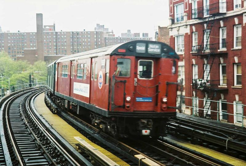 (88k, 800x540)<br><b>Country:</b> United States<br><b>City:</b> New York<br><b>System:</b> New York City Transit<br><b>Line:</b> IRT West Side Line<br><b>Location:</b> 207th Street <br><b>Route:</b> Fan Trip<br><b>Car:</b> R-33 World's Fair (St. Louis, 1963-64) 9327 <br><b>Photo by:</b> Gary Chatterton<br><b>Date:</b> 5/1/2005<br><b>Viewed (this week/total):</b> 6 / 6582