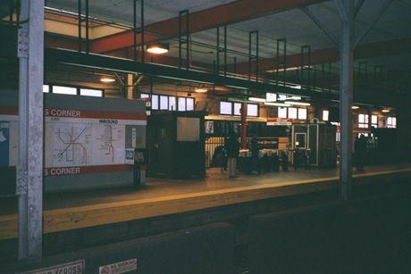 (22k, 460x307)<br><b>Country:</b> United States<br><b>City:</b> Boston, MA<br><b>System:</b> MBTA<br><b>Line:</b> MBTA Red Line<br><b>Location:</b> Fields Corner<br><b>Photo by:</b> Daniel DeAmicis<br><b>Date:</b> 10/21/2000<br><b>Viewed (this week/total):</b> 0 / 4491
