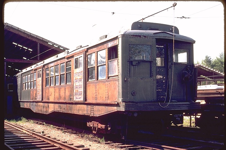 (127k, 768x512)<br><b>Country:</b> United States<br><b>City:</b> Kennebunk, ME<br><b>System:</b> Seashore Trolley Museum <br><b>Car:</b> MBTA 0700 Series Cambridge-Dorchester (Osgood-Bradley, 1927)  0719 <br><b>Photo by:</b> Gerald H. Landau<br><b>Collection of:</b> Joe Testagrose<br><b>Date:</b> 5/24/1981<br><b>Viewed (this week/total):</b> 1 / 1935
