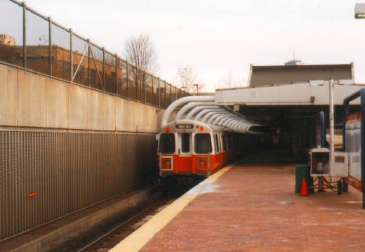 (41k, 520x359)<br><b>Country:</b> United States<br><b>City:</b> Boston, MA<br><b>System:</b> MBTA<br><b>Line:</b> MBTA Orange Line<br><b>Location:</b> Roxbury Crossing <br><b>Car:</b> MBTA 01200 Series (Hawker-Siddley, 1980-1981)   <br><b>Photo by:</b> Jason R. DeCesare<br><b>Viewed (this week/total):</b> 0 / 3231