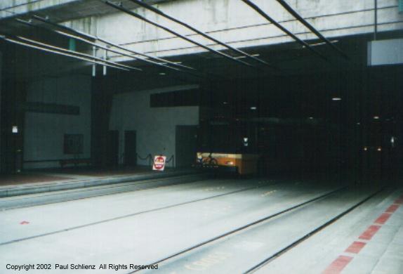 (67k, 574x390)<br><b>Country:</b> United States<br><b>City:</b> Seattle, WA<br><b>System:</b> Metro Transit/King County DOT<br><b>Line:</b> Seattle Metro Tunnel<br><b>Location:</b> International District<br><b>Photo by:</b> Paul Schlienz<br><b>Date:</b> 3/17/2001<br><b>Notes:</b> Breda Dual Mode Articulated<br><b>Viewed (this week/total):</b> 0 / 2723