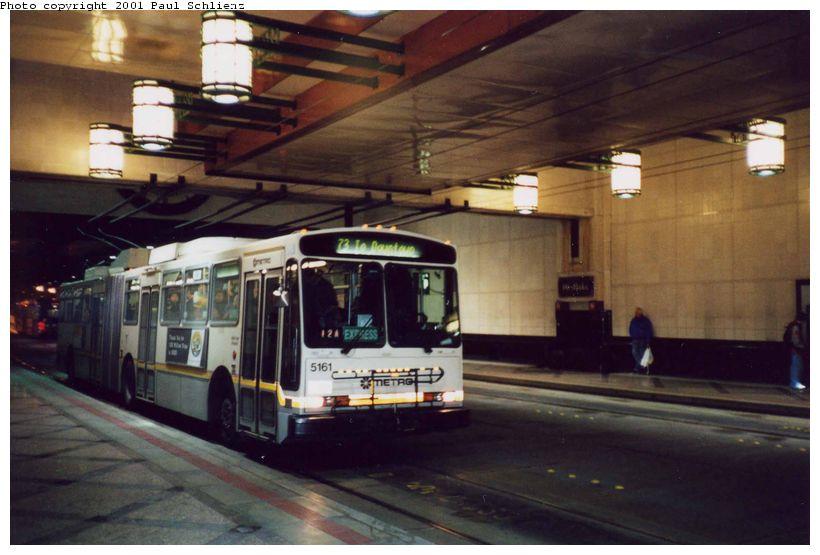 (71k, 820x555)<br><b>Country:</b> United States<br><b>City:</b> Seattle, WA<br><b>System:</b> Metro Transit/King County DOT<br><b>Line:</b> Seattle Metro Tunnel<br><b>Location:</b> Westlake<br><b>Photo by:</b> Paul Schlienz<br><b>Date:</b> 3/17/2001<br><b>Viewed (this week/total):</b> 0 / 3763