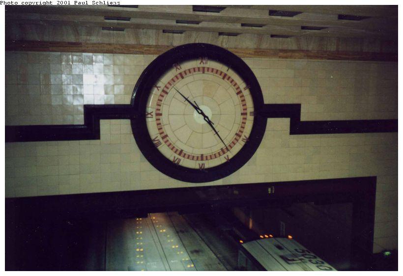 (54k, 820x562)<br><b>Country:</b> United States<br><b>City:</b> Seattle, WA<br><b>System:</b> Metro Transit/King County DOT<br><b>Line:</b> Seattle Metro Tunnel<br><b>Location:</b> Westlake<br><b>Photo by:</b> Paul Schlienz<br><b>Date:</b> 3/5/2001<br><b>Viewed (this week/total):</b> 0 / 1934