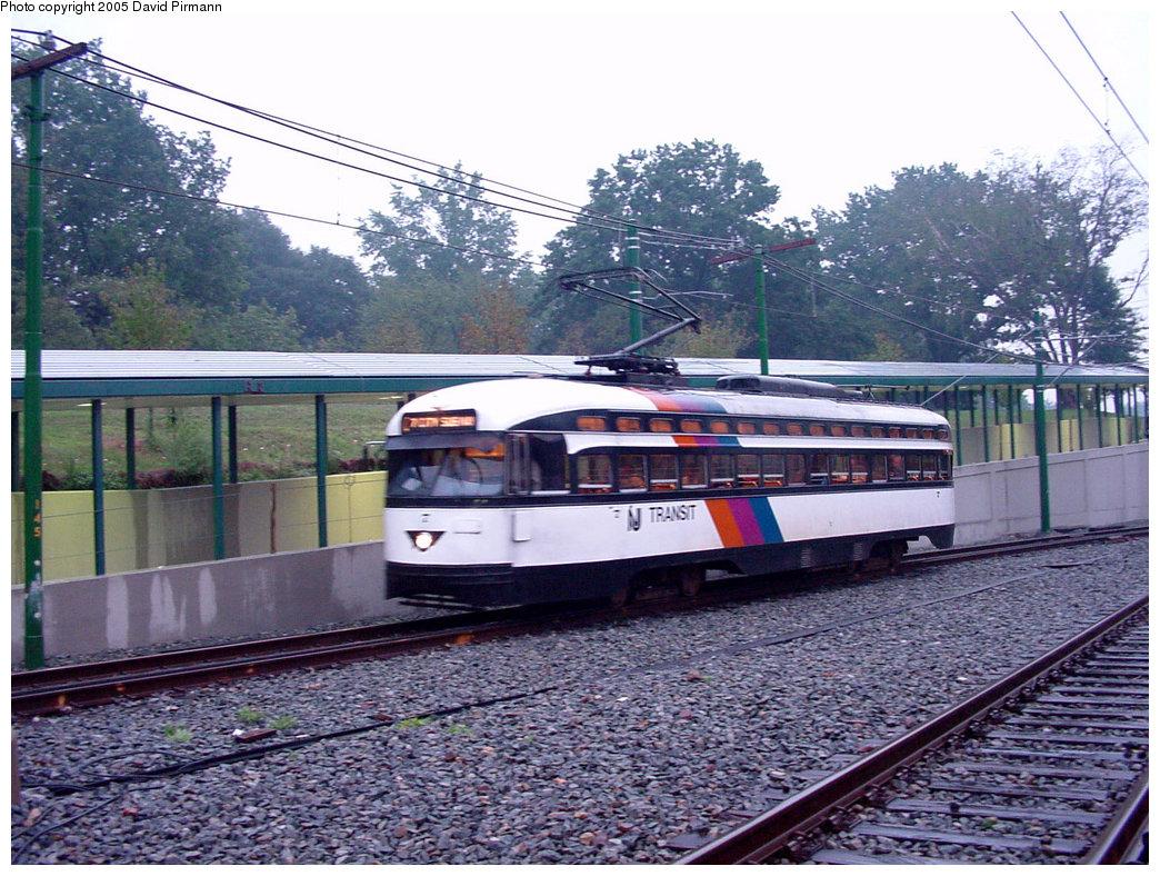 (280k, 1044x788)<br><b>Country:</b> United States<br><b>City:</b> Newark, NJ<br><b>System:</b> Newark City Subway<br><b>Line:</b> 7-City Subway<br><b>Location:</b> Branch Brook Park <br><b>Car:</b> NJTransit/PSCT PCC (Ex-Twin City) (St. Louis Car Co., 1946-1947) 7 <br><b>Photo by:</b> David Pirmann<br><b>Date:</b> 8/23/2001<br><b>Viewed (this week/total):</b> 3 / 3211
