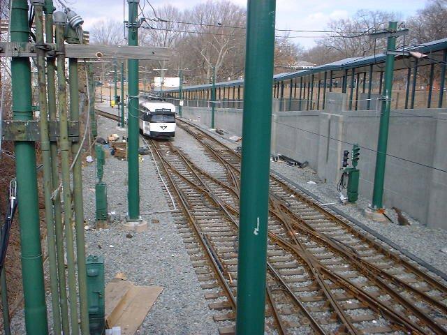 (99k, 640x480)<br><b>Country:</b> United States<br><b>City:</b> Newark, NJ<br><b>System:</b> Newark City Subway<br><b>Line:</b> 7-City Subway<br><b>Location:</b> Heller Parkway <br><b>Car:</b> NJTransit/PSCT PCC (Ex-Twin City) (St. Louis Car Co., 1946-1947)  <br><b>Photo by:</b> Peggy Darlington<br><b>Date:</b> 2001<br><b>Viewed (this week/total):</b> 1 / 4368