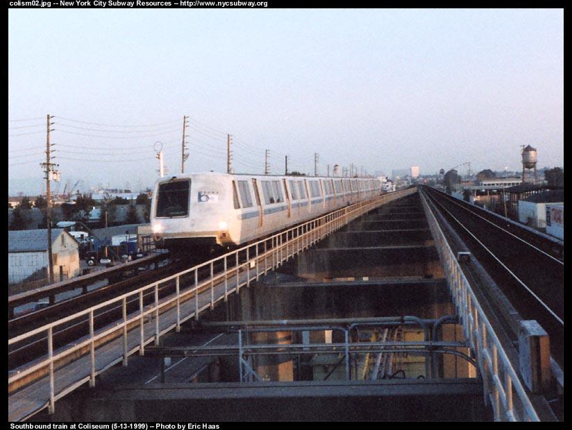 (94k, 824x620)<br><b>Country:</b> United States<br><b>City:</b> San Francisco/Bay Area, CA<br><b>System:</b> BART<br><b>Location:</b> Coliseum <br><b>Photo by:</b> Eric Haas<br><b>Date:</b> 5/13/1999<br><b>Viewed (this week/total):</b> 0 / 3928