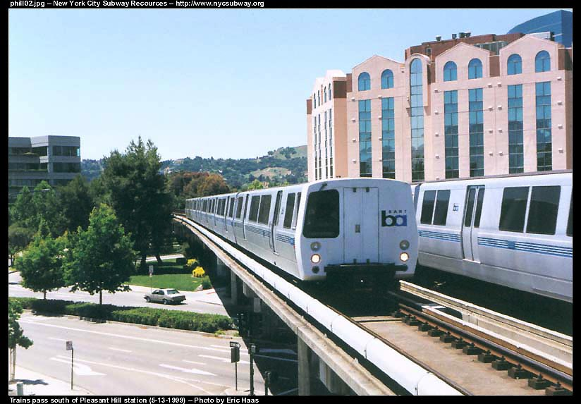 (97k, 824x573)<br><b>Country:</b> United States<br><b>City:</b> San Francisco/Bay Area, CA<br><b>System:</b> BART<br><b>Location:</b> Pleasant Hill <br><b>Photo by:</b> Eric Haas<br><b>Date:</b> 5/13/1999<br><b>Viewed (this week/total):</b> 0 / 2554