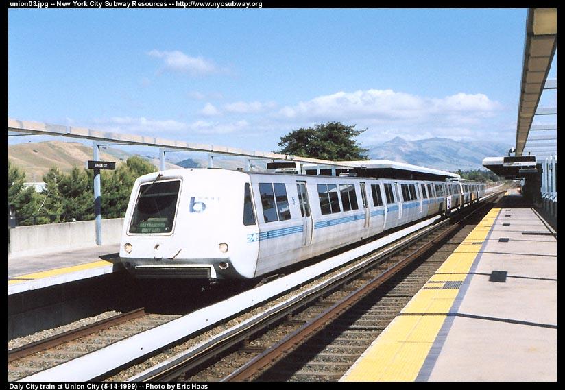 (107k, 824x569)<br><b>Country:</b> United States<br><b>City:</b> San Francisco/Bay Area, CA<br><b>System:</b> BART<br><b>Location:</b> Union City <br><b>Car:</b> BART 249 <br><b>Photo by:</b> Eric Haas<br><b>Date:</b> 5/14/1999<br><b>Viewed (this week/total):</b> 0 / 2130