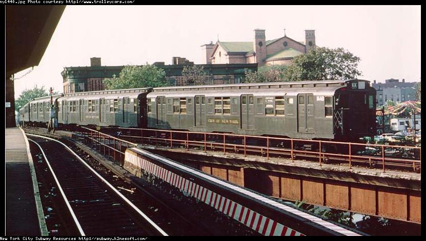 (90k, 837x474)<br><b>Country:</b> United States<br><b>City:</b> New York<br><b>System:</b> New York City Transit<br><b>Location:</b> East New York Yard/Shops<br><b>Route:</b> Fan Trip<br><b>Car:</b> R-7 (American Car & Foundry, 1937)  1440 <br><b>Collection of:</b> Former trolleycars dot com site<br><b>Viewed (this week/total):</b> 0 / 6523