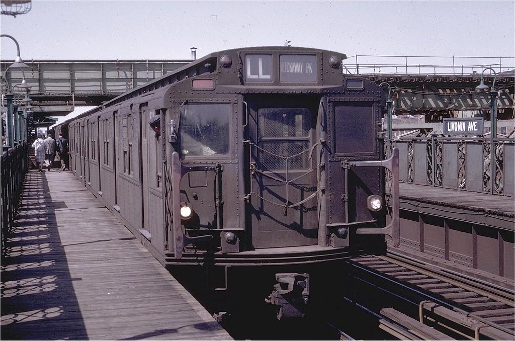 (251k, 1024x678)<br><b>Country:</b> United States<br><b>City:</b> New York<br><b>System:</b> New York City Transit<br><b>Line:</b> BMT Canarsie Line<br><b>Location:</b> Livonia Avenue <br><b>Route:</b> L<br><b>Car:</b> R-7 (Pullman, 1937)  1546 <br><b>Photo by:</b> Doug Grotjahn<br><b>Collection of:</b> Joe Testagrose<br><b>Date:</b> 4/26/1969<br><b>Viewed (this week/total):</b> 0 / 3513