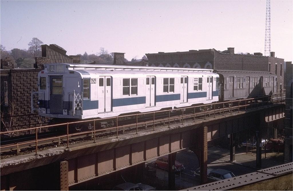 (191k, 1024x667)<br><b>Country:</b> United States<br><b>City:</b> New York<br><b>System:</b> New York City Transit<br><b>Location:</b> East New York Yard/Shops<br><b>Car:</b> R-7A (American Car & Foundry, 1938)  1604 <br><b>Collection of:</b> Joe Testagrose<br><b>Date:</b> 11/3/1970<br><b>Viewed (this week/total):</b> 3 / 5692