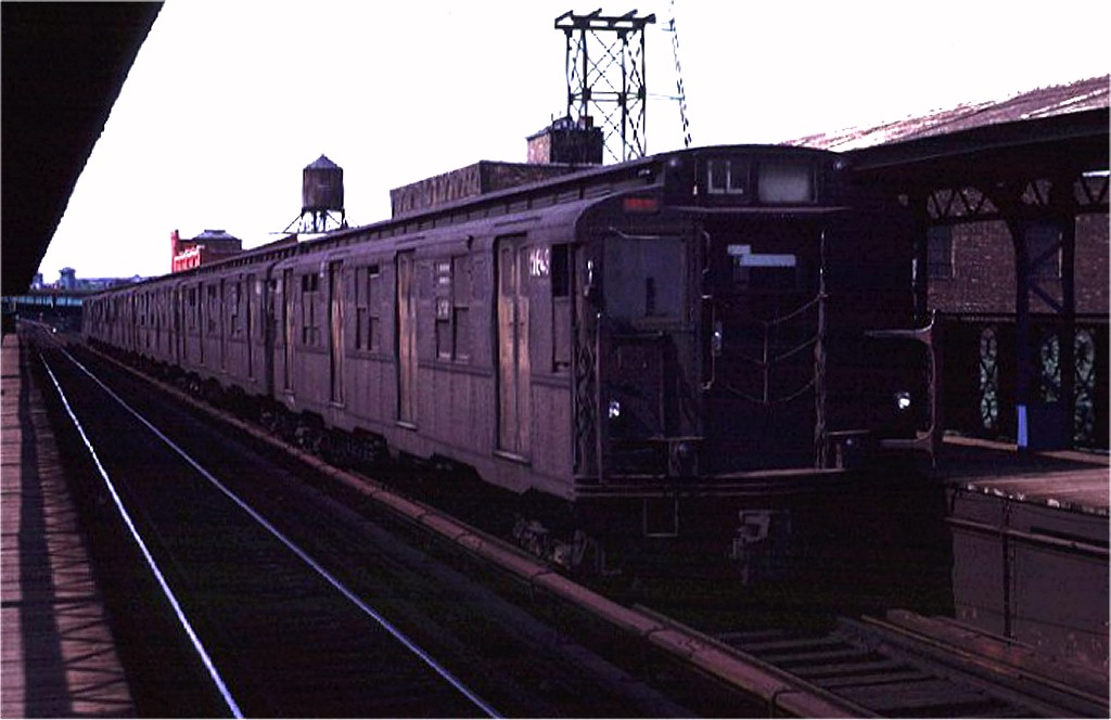 (130k, 1024x664)<br><b>Country:</b> United States<br><b>City:</b> New York<br><b>System:</b> New York City Transit<br><b>Line:</b> BMT Canarsie Line<br><b>Location:</b> Sutter Avenue <br><b>Route:</b> L<br><b>Car:</b> R-7A (American Car & Foundry, 1938)  1649 <br><b>Photo by:</b> Joe Testagrose<br><b>Date:</b> 8/2/1970<br><b>Viewed (this week/total):</b> 2 / 3273