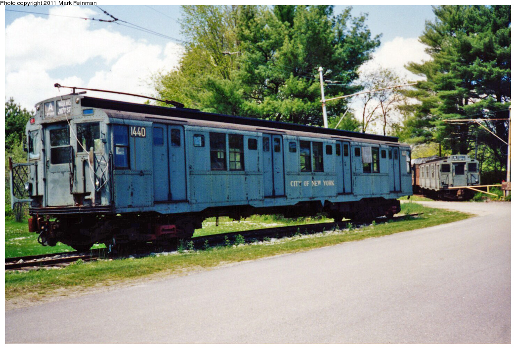 (391k, 1044x707)<br><b>Country:</b> United States<br><b>City:</b> Kennebunk, ME<br><b>System:</b> Seashore Trolley Museum<br><b>Car:</b> R-7 (American Car & Foundry, 1937) 1440 <br><b>Photo by:</b> Mark S. Feinman<br><b>Date:</b> 9/5/1994<br><b>Viewed (this week/total):</b> 0 / 5437
