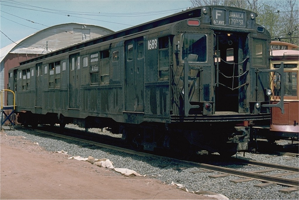 (230k, 1024x687)<br><b>Country:</b> United States<br><b>City:</b> East Haven/Branford, Ct.<br><b>System:</b> Shore Line Trolley Museum <br><b>Car:</b> R-9 (American Car & Foundry, 1940)  1689 <br><b>Photo by:</b> Jim Durney<br><b>Collection of:</b> Joe Testagrose<br><b>Date:</b> 5/23/1978<br><b>Viewed (this week/total):</b> 5 / 3940