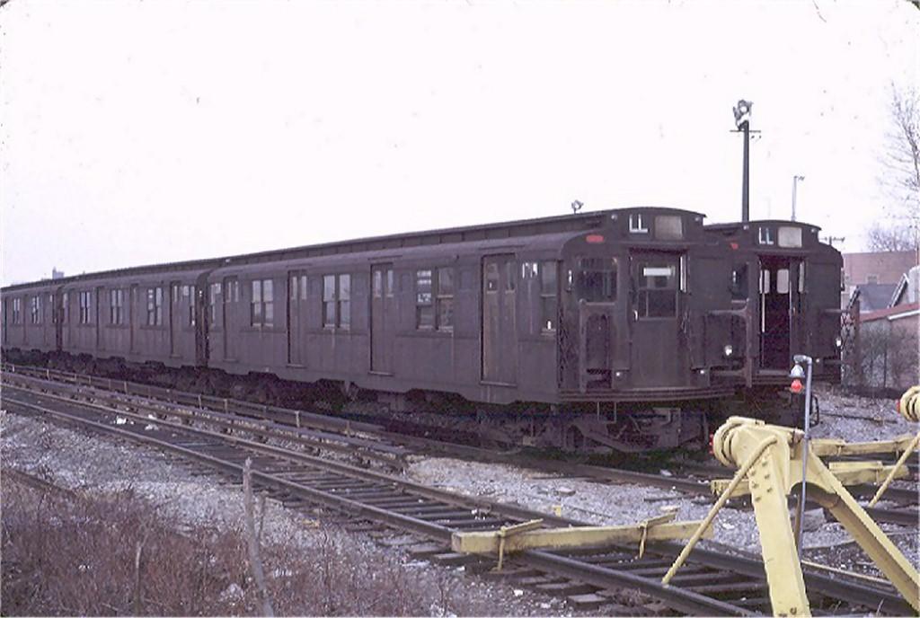 (146k, 1024x688)<br><b>Country:</b> United States<br><b>City:</b> New York<br><b>System:</b> New York City Transit<br><b>Location:</b> Rockaway Parkway (Canarsie) Yard<br><b>Car:</b> R-9 (Pressed Steel, 1940)  1719 <br><b>Photo by:</b> Joe Testagrose<br><b>Date:</b> 2/27/1971<br><b>Viewed (this week/total):</b> 4 / 3467