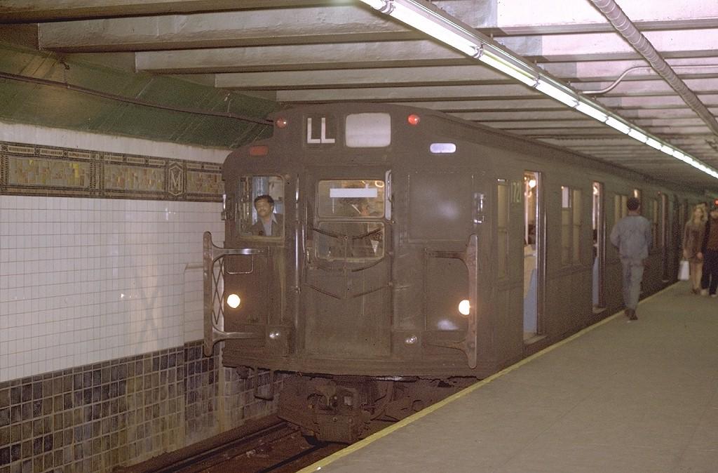 (193k, 1024x674)<br><b>Country:</b> United States<br><b>City:</b> New York<br><b>System:</b> New York City Transit<br><b>Line:</b> BMT Canarsie Line<br><b>Location:</b> Myrtle Avenue <br><b>Route:</b> LL<br><b>Car:</b> R-9 (Pressed Steel, 1940)  1721 <br><b>Photo by:</b> Joe Testagrose<br><b>Date:</b> 11/9/1970<br><b>Viewed (this week/total):</b> 0 / 4915