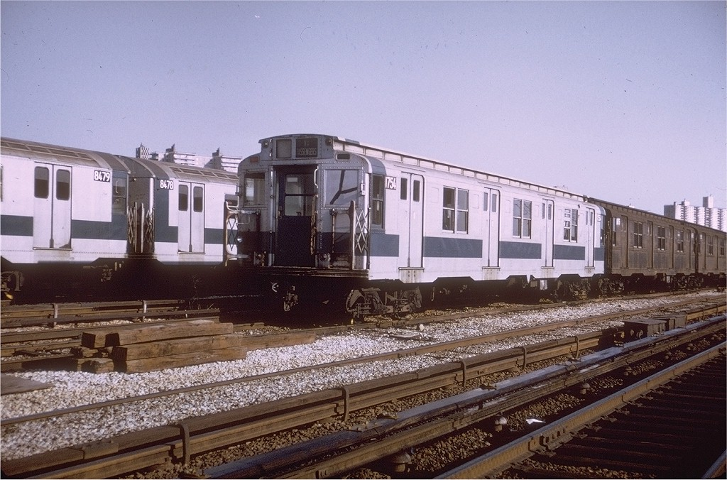 (216k, 1024x676)<br><b>Country:</b> United States<br><b>City:</b> New York<br><b>System:</b> New York City Transit<br><b>Location:</b> Coney Island Yard<br><b>Car:</b> R-9 (Pressed Steel, 1940)  1754 <br><b>Photo by:</b> Steve Zabel<br><b>Collection of:</b> Joe Testagrose<br><b>Date:</b> 4/9/1972<br><b>Viewed (this week/total):</b> 2 / 3063