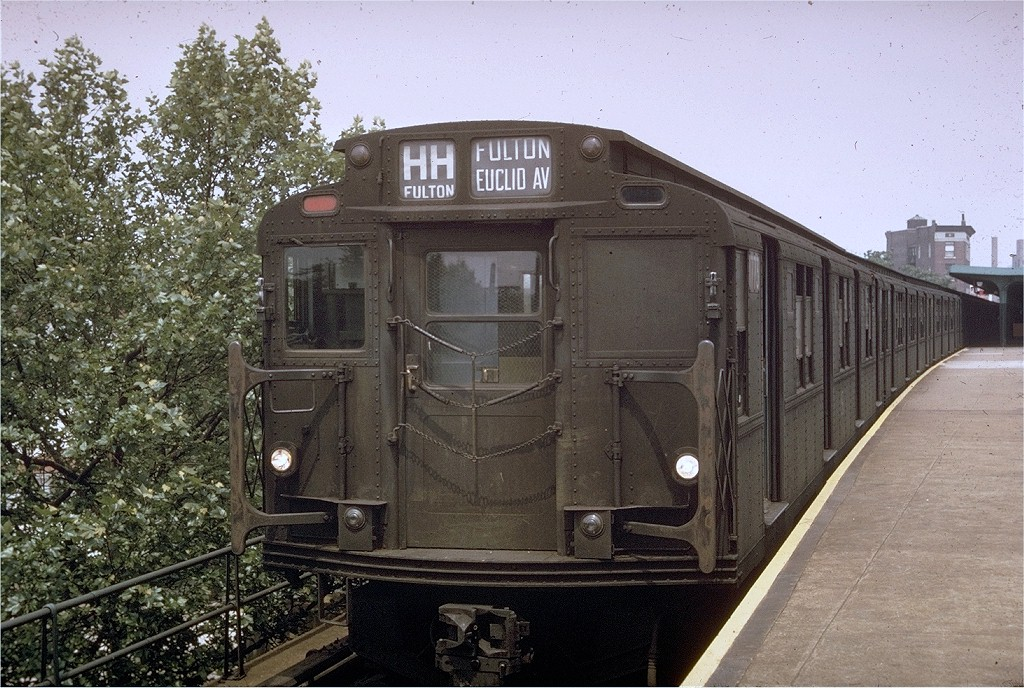 (247k, 1024x688)<br><b>Country:</b> United States<br><b>City:</b> New York<br><b>System:</b> New York City Transit<br><b>Line:</b> IND Rockaway<br><b>Location:</b> Mott Avenue/Far Rockaway <br><b>Route:</b> HH<br><b>Car:</b> R-9 (Pressed Steel, 1940)  1773 <br><b>Photo by:</b> Bob Epstein<br><b>Collection of:</b> Joe Testagrose<br><b>Date:</b> 9/1966<br><b>Viewed (this week/total):</b> 2 / 4086