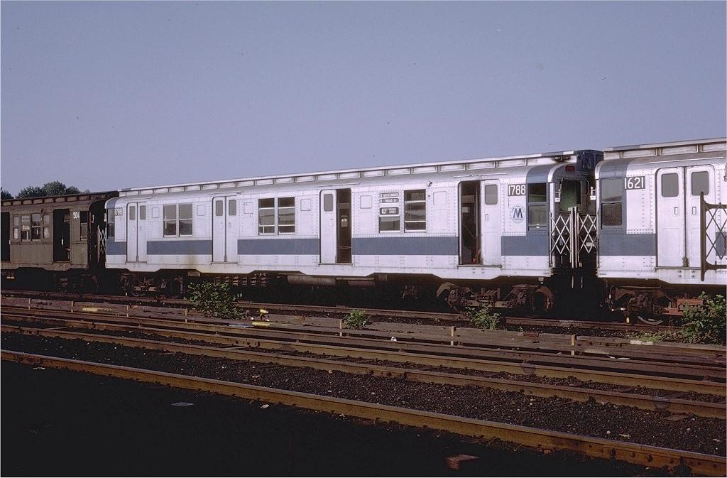 (201k, 1024x673)<br><b>Country:</b> United States<br><b>City:</b> New York<br><b>System:</b> New York City Transit<br><b>Location:</b> Coney Island Yard<br><b>Car:</b> R-9 (Pressed Steel, 1940)  1788 <br><b>Photo by:</b> Steve Zabel<br><b>Collection of:</b> Joe Testagrose<br><b>Date:</b> 7/15/1972<br><b>Viewed (this week/total):</b> 4 / 2989