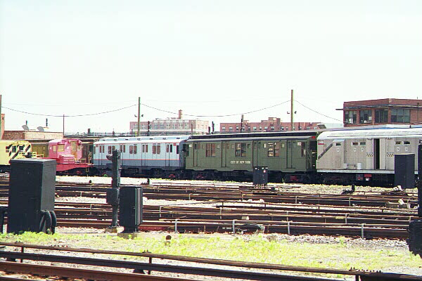 (111k, 600x400)<br><b>Country:</b> United States<br><b>City:</b> New York<br><b>System:</b> New York City Transit<br><b>Location:</b> Coney Island Yard-Museum Yard<br><b>Car:</b> R-9 (Pressed Steel, 1940)  1802 <br><b>Photo by:</b> Sidney Keyles<br><b>Date:</b> 5/22/1999<br><b>Viewed (this week/total):</b> 0 / 2825