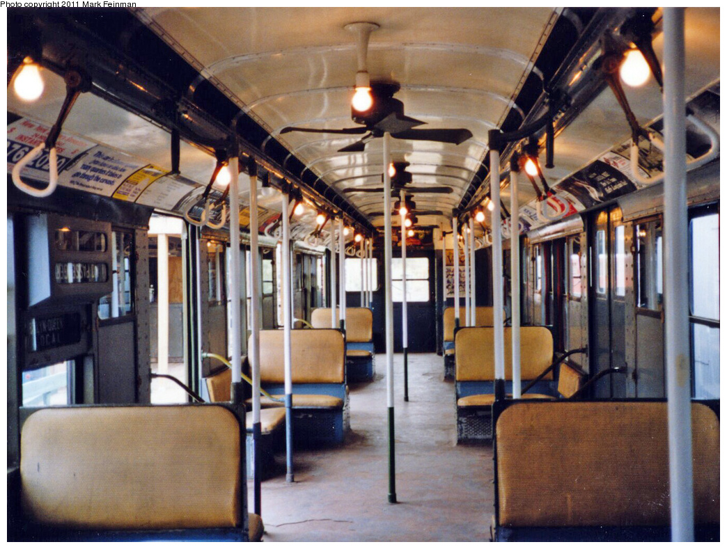 (418k, 1044x789)<br><b>Country:</b> United States<br><b>City:</b> East Haven/Branford, Ct.<br><b>System:</b> Shore Line Trolley Museum <br><b>Car:</b> R-9 (American Car & Foundry, 1940)  1689 <br><b>Photo by:</b> Mark S. Feinman<br><b>Date:</b> 10/8/1994<br><b>Viewed (this week/total):</b> 4 / 11294