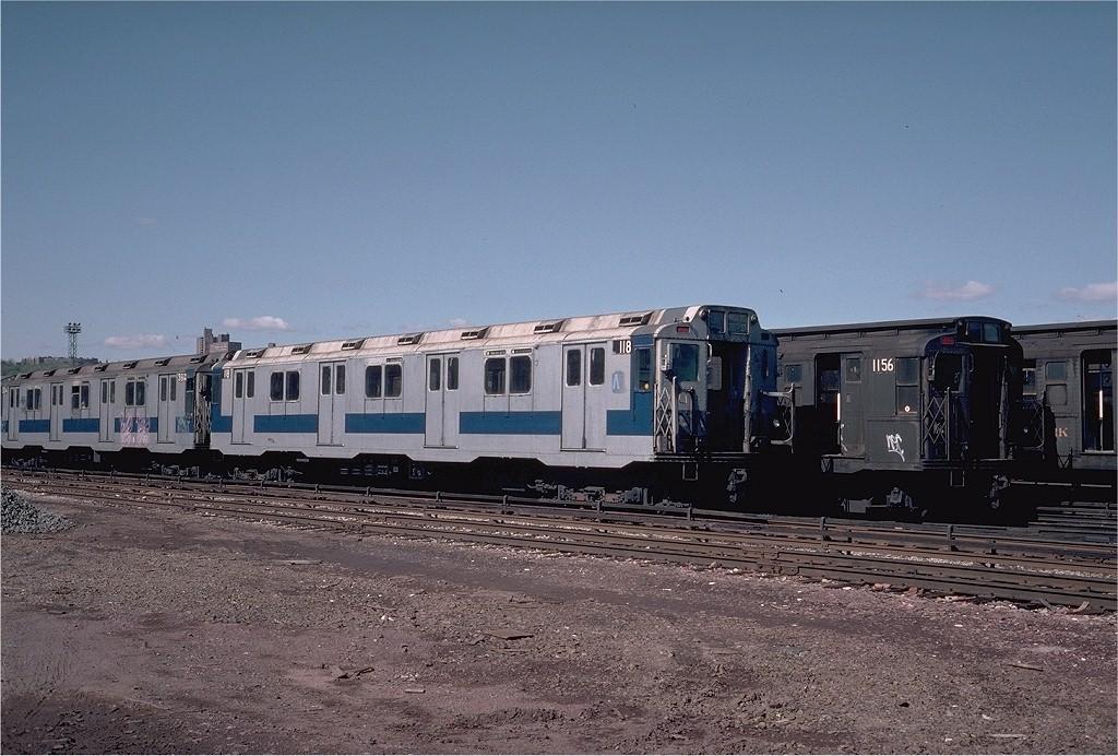 (215k, 1024x692)<br><b>Country:</b> United States<br><b>City:</b> New York<br><b>System:</b> New York City Transit<br><b>Location:</b> 207th Street Yard<br><b>Car:</b> R-10 (American Car & Foundry, 1948) 3118 <br><b>Photo by:</b> Steve Zabel<br><b>Collection of:</b> Joe Testagrose<br><b>Date:</b> 4/29/1976<br><b>Viewed (this week/total):</b> 5 / 3754