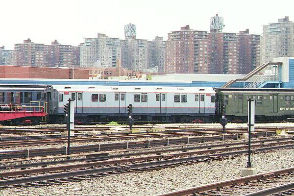 (149k, 600x400)<br><b>Country:</b> United States<br><b>City:</b> New York<br><b>System:</b> New York City Transit<br><b>Location:</b> Coney Island Yard-Museum Yard<br><b>Car:</b> R-10 (American Car & Foundry, 1948) 3184 <br><b>Photo by:</b> Sidney Keyles<br><b>Date:</b> 5/22/1999<br><b>Viewed (this week/total):</b> 0 / 3114