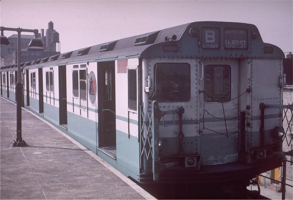 (200k, 1024x700)<br><b>Country:</b> United States<br><b>City:</b> New York<br><b>System:</b> New York City Transit<br><b>Location:</b> Coney Island/Stillwell Avenue<br><b>Route:</b> B<br><b>Car:</b> R-10 (American Car & Foundry, 1948) 3199 <br><b>Photo by:</b> Joe Testagrose<br><b>Date:</b> 4/12/1968<br><b>Viewed (this week/total):</b> 1 / 4300