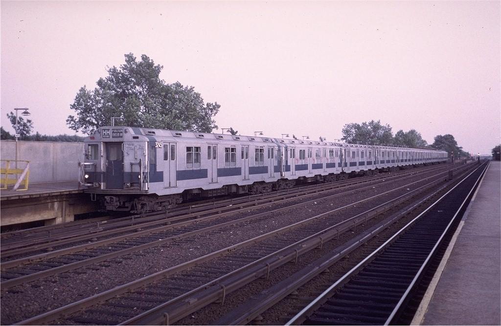 (189k, 1024x667)<br><b>Country:</b> United States<br><b>City:</b> New York<br><b>System:</b> New York City Transit<br><b>Line:</b> IND Rockaway<br><b>Location:</b> Aqueduct/North Conduit Avenue <br><b>Route:</b> HH<br><b>Car:</b> R-10 (American Car & Foundry, 1948) 3245 <br><b>Photo by:</b> Steve Zabel<br><b>Collection of:</b> Joe Testagrose<br><b>Date:</b> 9/9/1972<br><b>Viewed (this week/total):</b> 5 / 3090