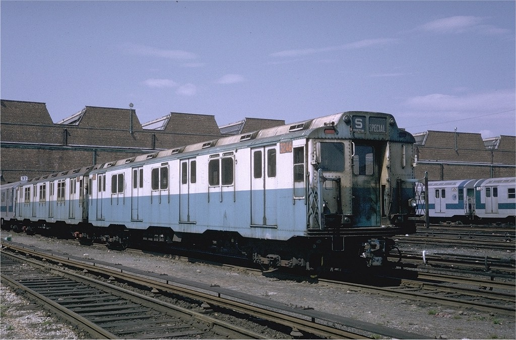 (211k, 1024x675)<br><b>Country:</b> United States<br><b>City:</b> New York<br><b>System:</b> New York City Transit<br><b>Location:</b> Coney Island Yard<br><b>Car:</b> R-10 (American Car & Foundry, 1948) 3246 <br><b>Photo by:</b> Steve Zabel<br><b>Collection of:</b> Joe Testagrose<br><b>Date:</b> 5/11/1971<br><b>Viewed (this week/total):</b> 6 / 3107