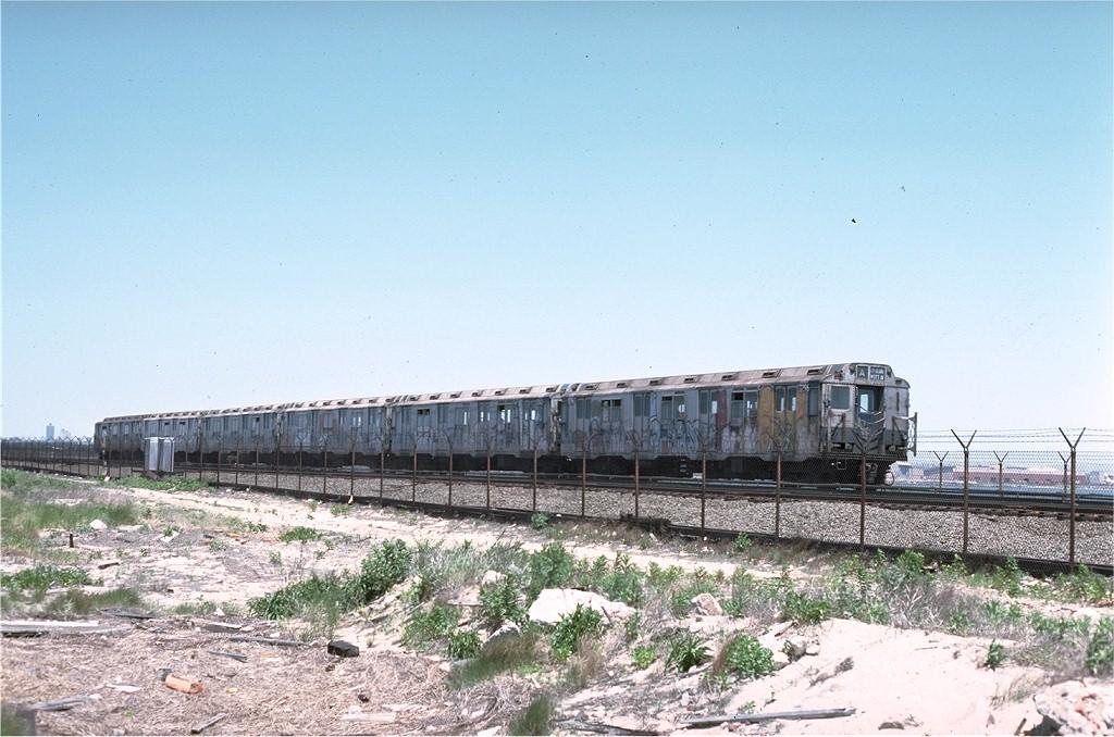 (207k, 1024x678)<br><b>Country:</b> United States<br><b>City:</b> New York<br><b>System:</b> New York City Transit<br><b>Line:</b> IND Rockaway<br><b>Location:</b> Jamaica Bay Crossing<br><b>Route:</b> A<br><b>Car:</b> R-10 (American Car & Foundry, 1948) 3296 <br><b>Photo by:</b> Joe Testagrose<br><b>Date:</b> 6/4/1977<br><b>Viewed (this week/total):</b> 0 / 3303