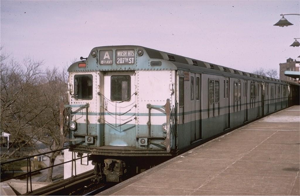 (173k, 1024x669)<br><b>Country:</b> United States<br><b>City:</b> New York<br><b>System:</b> New York City Transit<br><b>Line:</b> IND Rockaway<br><b>Location:</b> Mott Avenue/Far Rockaway <br><b>Route:</b> A<br><b>Car:</b> R-10 (American Car & Foundry, 1948) 3336 <br><b>Photo by:</b> Doug Grotjahn<br><b>Collection of:</b> Joe Testagrose<br><b>Date:</b> 3/1968<br><b>Viewed (this week/total):</b> 8 / 4100