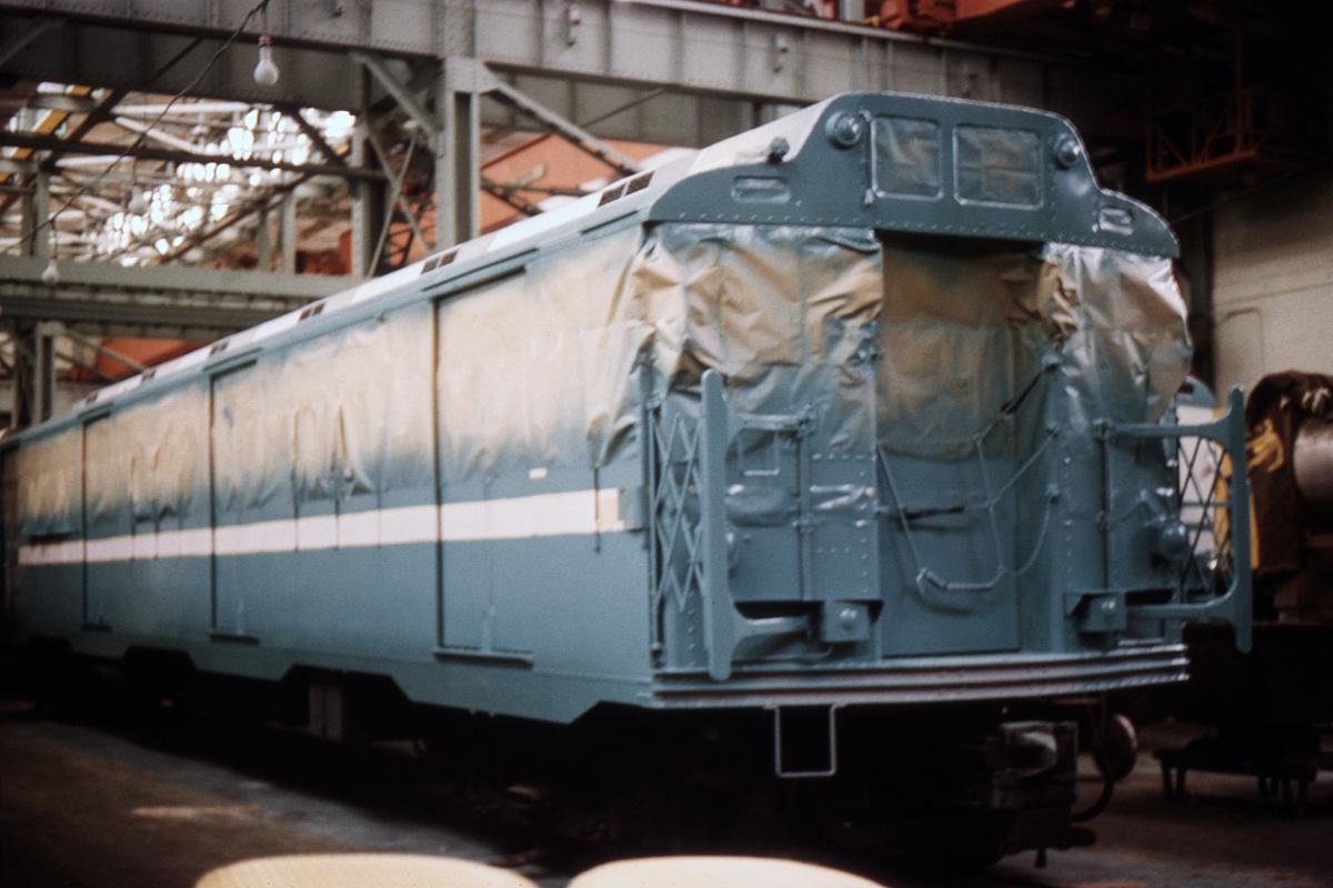 (294k, 1044x664)<br><b>Country:</b> United States<br><b>City:</b> New York<br><b>System:</b> New York City Transit<br><b>Location:</b> Coney Island Shop/Overhaul & Repair Shop<br><b>Car:</b> R-10 (American Car & Foundry, 1948)  <br><b>Collection of:</b> David Pirmann<br><b>Date:</b> 4/13/1966<br><b>Viewed (this week/total):</b> 1 / 4926