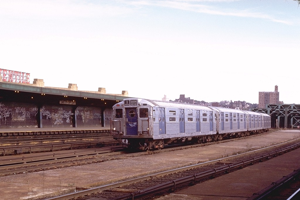 (168k, 1024x683)<br><b>Country:</b> United States<br><b>City:</b> New York<br><b>System:</b> New York City Transit<br><b>Line:</b> IND Crosstown Line<br><b>Location:</b> Smith/9th Street <br><b>Route:</b> Fan Trip<br><b>Car:</b> R-11 (Budd, 1949) 8012 <br><b>Photo by:</b> Joe Testagrose<br><b>Date:</b> 10/21/1972<br><b>Viewed (this week/total):</b> 5 / 4257