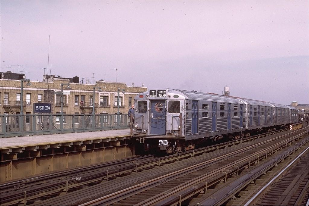 (225k, 1024x684)<br><b>Country:</b> United States<br><b>City:</b> New York<br><b>System:</b> New York City Transit<br><b>Line:</b> BMT West End Line<br><b>Location:</b> 55th Street <br><b>Route:</b> Fan Trip<br><b>Car:</b> R-11 (Budd, 1949) 8016 <br><b>Photo by:</b> Joe Testagrose<br><b>Date:</b> 10/21/1972<br><b>Viewed (this week/total):</b> 1 / 3230