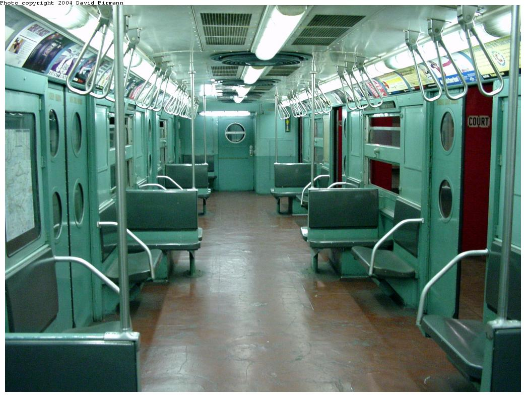 (134k, 1044x788)<br><b>Country:</b> United States<br><b>City:</b> New York<br><b>System:</b> New York City Transit<br><b>Location:</b> New York Transit Museum<br><b>Car:</b> R-11 (Budd, 1949) 8013 <br><b>Photo by:</b> David Pirmann<br><b>Date:</b> 3/12/2000<br><b>Viewed (this week/total):</b> 29 / 23523